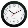 Narrow Round Wall Clock