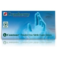 Contour Powder Free Nitrile Exam Gloves